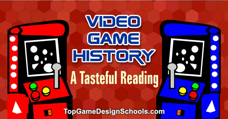 video game history, from pong the first game and arcade games